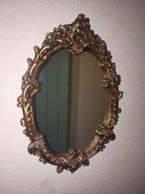 Heavy ish mirror