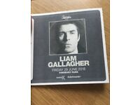 Liam Gallagher Finsbury Park x 3 tickets. We are now unable to get