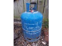 Empty 15kg calor butane gas bottle
