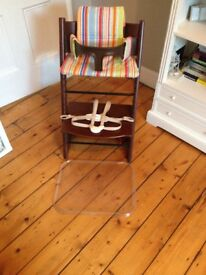 Stokke Tripp Trapp Highchair with accessories