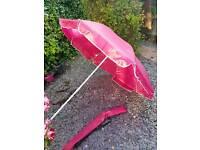 Garden beach parasol