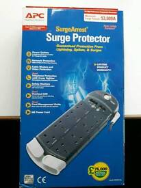 APC surge protection 8 gang extension lead