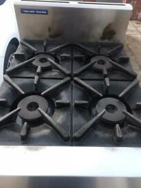 Commercial Blue Seal 4Burner Cooker Oven