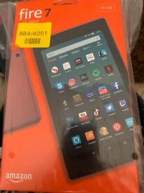 Amazon 7 fire tablet with Alexa