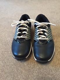 Ladies Nike Air Embellish Black Golf Shoes with interchangeable side panels - Size 5.5