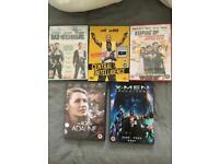 5 DVD's - brand new. Will accept solo offers