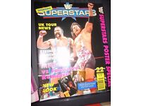 RARE WWE/ WWF WRESTLING SUPER STARS POSTER MAGAZINE STEINER BROTHERS COVER OTHER MAGAZINES FOR SALE