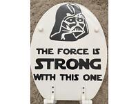 Star Wars Toilet Seat