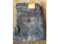 True religion Boys jeans size 14 AUTHENTIC