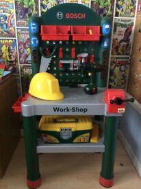 Kids Bosch play workbench