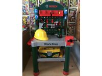 Kids Bosch play workbench
