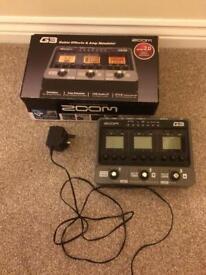 Zoom g3 guitar effects & amp simulator