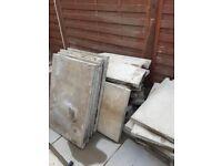 21 Grey Pressed Concrete 900 x 600 x 50 mm Paving Slabs