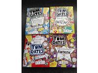Tom gates - 4 book children's collection.