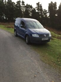 Volkswagen caddy 55 plate tai 104 needs attention