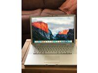 """MacBook Pro 15.4"""" 2008 2.5GHz 250HHD 4GB Ram"""