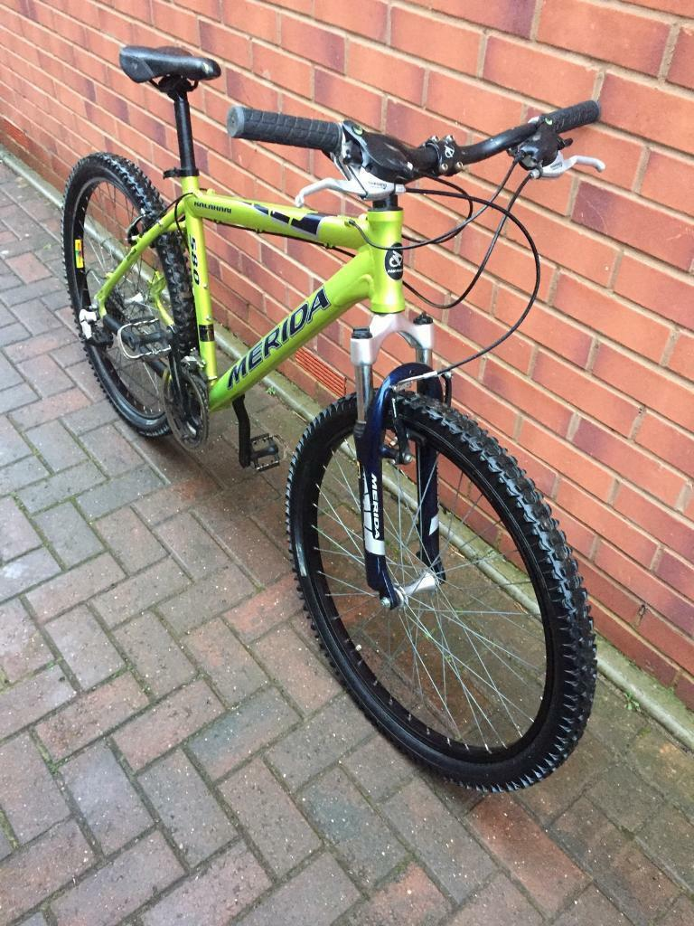 "MERIDA Adults mountain bike 26""wheels size BARGAIN!"