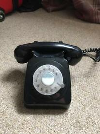 Old fashioned style telephone
