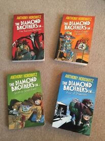 Children's Anthony Horowitz books
