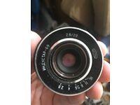 Industar 69 Lens, 28 mm, f2.8 - M39 mm thread