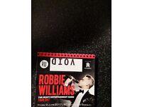 Robbie Williams standing tickets X2 Murrayfield 09/06/17