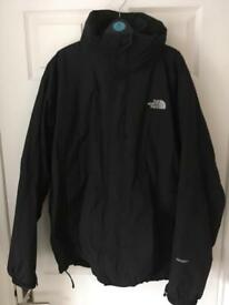 The North Face Black Hyvent Waterproof Jacket