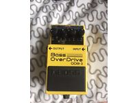 Boss ODB-3 Bass Overdrive Distortion Effects Pedal Retails at £89