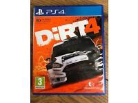 PS4 game Dirt 4