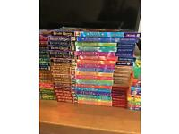 70+ Beast quest children's paperback books and 10 time hunter books
