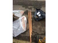 Copper pipe job lot