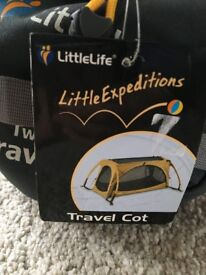 LittleLife Twin Arc Travel Cot