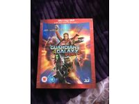 Guardians of the galaxy blu ray 3D + 2D disc
