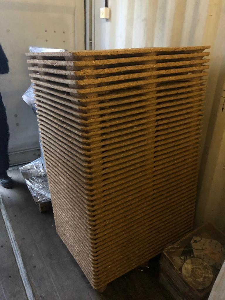 Brand new Wood pallets / storage - Moulded | in Blaby, Leicestershire |  Gumtree