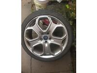 St alloy wheel