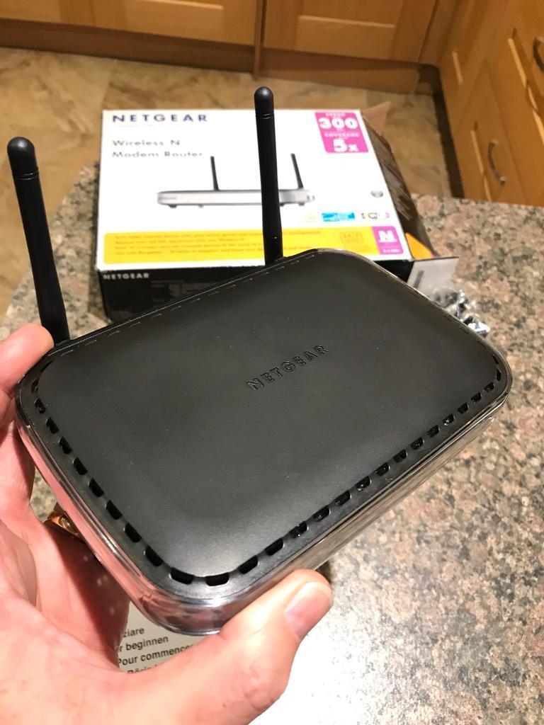 Netgear DGN2000 router
