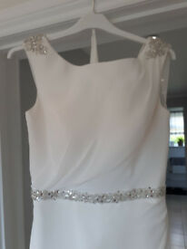 Tiffanys Carrie Bridal dress - Ivory size 8