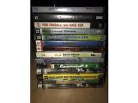 Pc games 14 in all good fun to play full working order. Must go to good home.. cheap