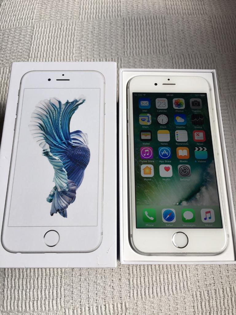 IPhone 6s 16gb Silver UNLOCKED with Apple Warrantyin Derby, DerbyshireGumtree - IPhone 6s 16gb Silver UNLOCKED. Good condition. Apple Warranty til Dec June 2017Collection from Burton or please ask for local delivery. Thanks £275 No Offers