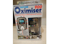 BNWT Oxford Motorbike Oximiser 900 Motorcycle battery charger Box never opened motorbike trickle
