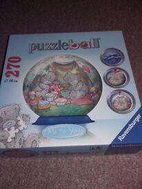 Puzzle ball jigsaw