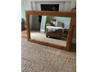 Lovely pine mirror