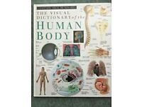 Visual Dictionary of the Human Body by Dorling Kindersley. (Large Hardback book)