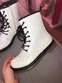 Dr Marten style boots