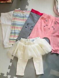 6-12m leggings and pants