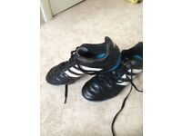 Size 5 ½ adidas football boots with blades