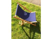 Child's Deck Chair 18months - 4 years