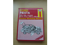 Ford Fiesta Haynes Manual 1976 to 1983