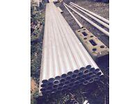 Aluminium scaffolding and fittings