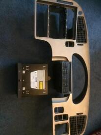 Saab front panel, control panel and cd player