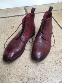 Paul Smith men's boots, brown / burgundy. Size 8.5. Good condition.£60